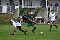 Z fotbalového utkání I.B třídy Semice - Milovice (4:2)