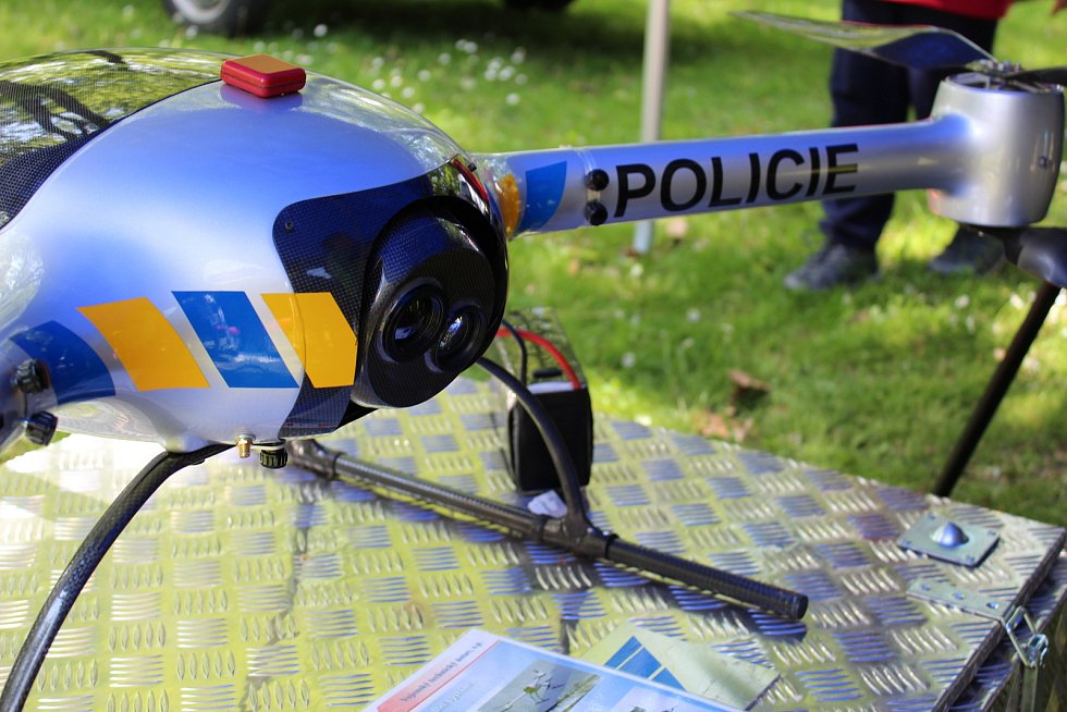 Den policie a složek Integrovaného záchranného systému. Ilustrační foto.