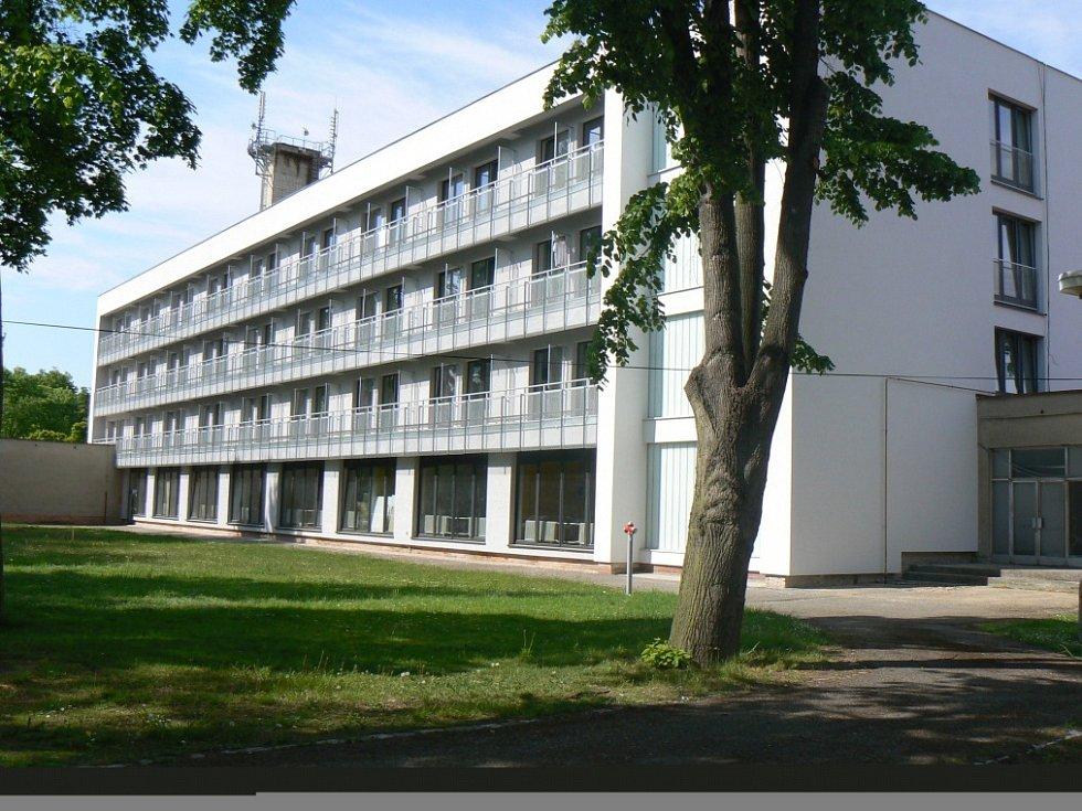 Hotel Sportovního centra po rekonstrukci