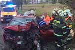 Vážná dopravní nehoda u Benic.