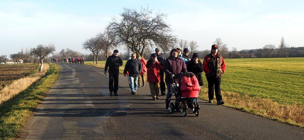 Letošní pochod zaznamenal rekordní účast.