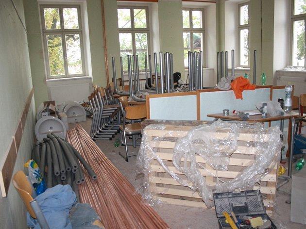 Rekonstrukce ZŠ B. Hrozného v Lysé nad Labem