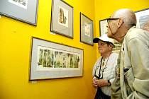 Od soboty je možné shlédnout v Lesním ateliéru Kuba výstavu grafik akademické malířky Michaely Lesařové Roubíčkové.