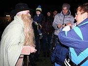 Na akci Nymburk plný strašidel dorazily i letos stovky dětí a rodičů.