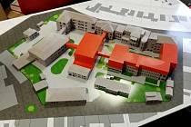 3D model nymburské nemocnice.