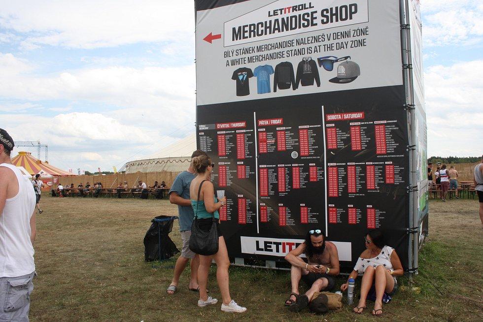 Festival Let It Roll v roce 2017.