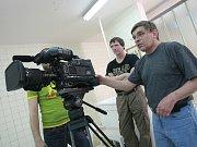 Filmaři v Poděbradech točí dokument Sen o lázních.