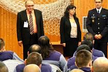 Návštěva ministryně práce a sociálních věcí Michaely Marksové - Tominové v jiřické věznici