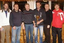 Zástupci klubů, které se zúčastnily kolínského zimního turnaje