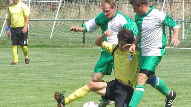Z přípravného utkání Milovice - Polaban Nymburk B (3:3)