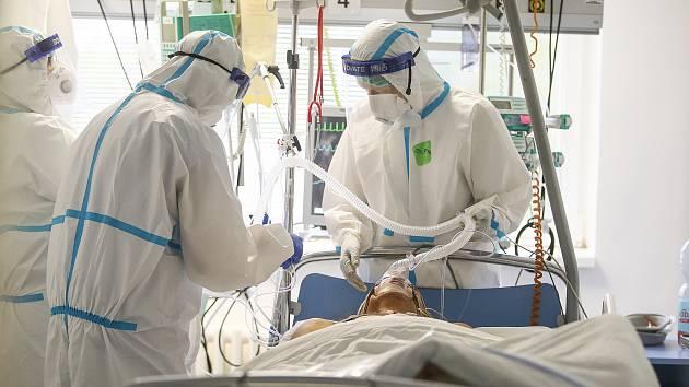 Kapacity se plní rychleji, zní z nemocnic na Vysočině. Ilustrační foto.