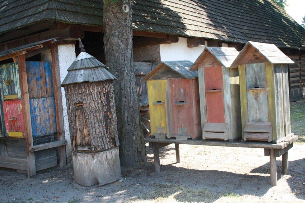 Medobraní ve skanzenu v Přerově nad Labem