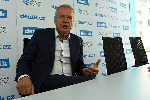 Volební lídr Realistů ve Středočeském kraji Antonín Fryč