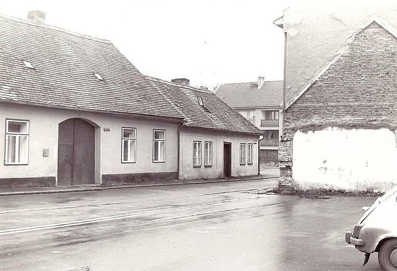 Zmizelé Poděbrady - Přemyslova ulice.