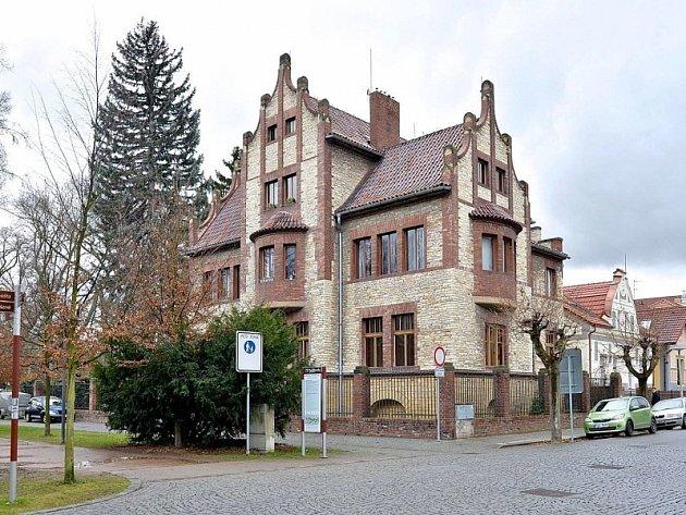Poděbradská vila Kouřimka.