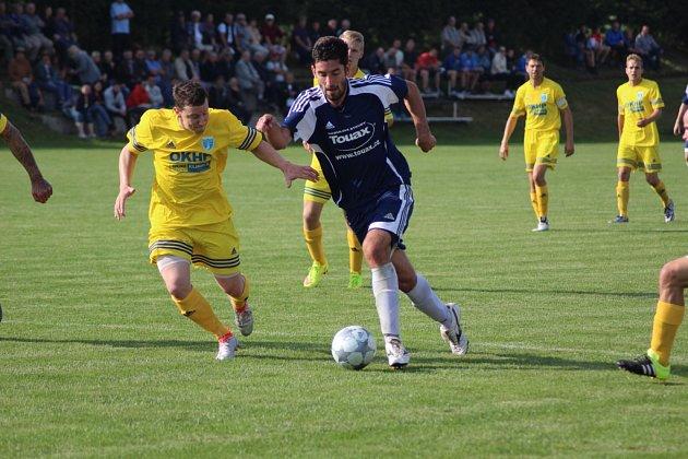 Ze zápasů fotbalistů Čechie Vykáň v sezoně 2016 - 2017