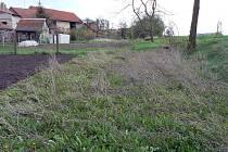 Část pozemku, který se snaží získat Ladislav Janata ze Zábrdovic už mnoho let.