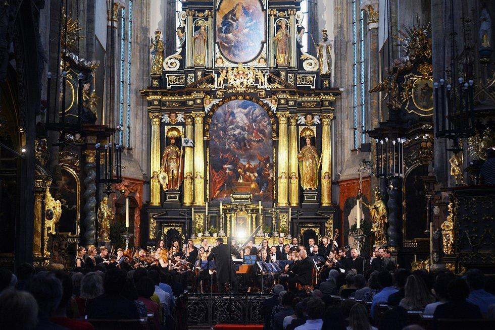 Barokní orchestr pražské konzervatoře.