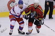 ZASE JEN JEDEN GÓL. Hokejisté Nymburka prohráli i druhé utkání s Jabloncem nad Nisou, tentokrát na svém ledě. A opět vstřelili pouze jeden jediný gól