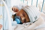 VÍTEK Hubáček se narodil 19. 11. 2017 v 15.50 hodin s mírami 53 cm a 3 500 g rodičům Daniele a Ivovi.