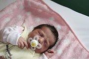 SOFINKA Z NYMBURKA. SOFIE FILIPČÍKOVÁ přišla na svět 23. září 2017 v 8.22 hodin. Mimi s mírami 2 600 g a 45 cm má rodiče Nikolu  a Tomáše a sourozence Nikolase (7), Lauru (3) a   Jessiku (1).