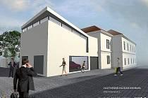 Vizualizace a architektonické studie nové podoby muzea.