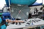Policisté během soboty proti účastníkům nepovolené technoparty nezasáhli.