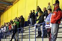 Z hokejového utkání druhé ligy Nymburk - Vrchlabí (2:3)