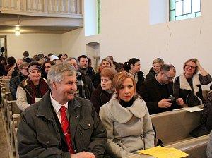 Koncert anglických hudebníků ledoval zaplněný evangelický kostel