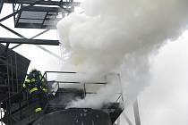 Požár u Činěvsi