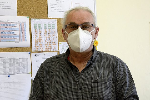 Jiří Veverka, ředitel základní školy T. G. Masaryka, Komárov