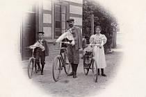 Historie cyklistiky nejen v Polabí
