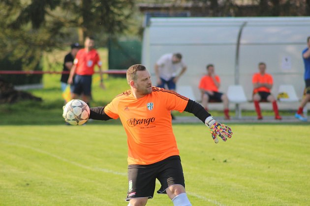 Ondřej Fišer, brankář fotbalistů Milovic.