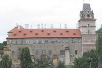 Zámek v Brandýse nad Labem.
