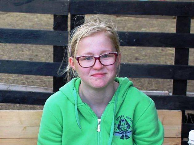 Anička Walterová, 14let