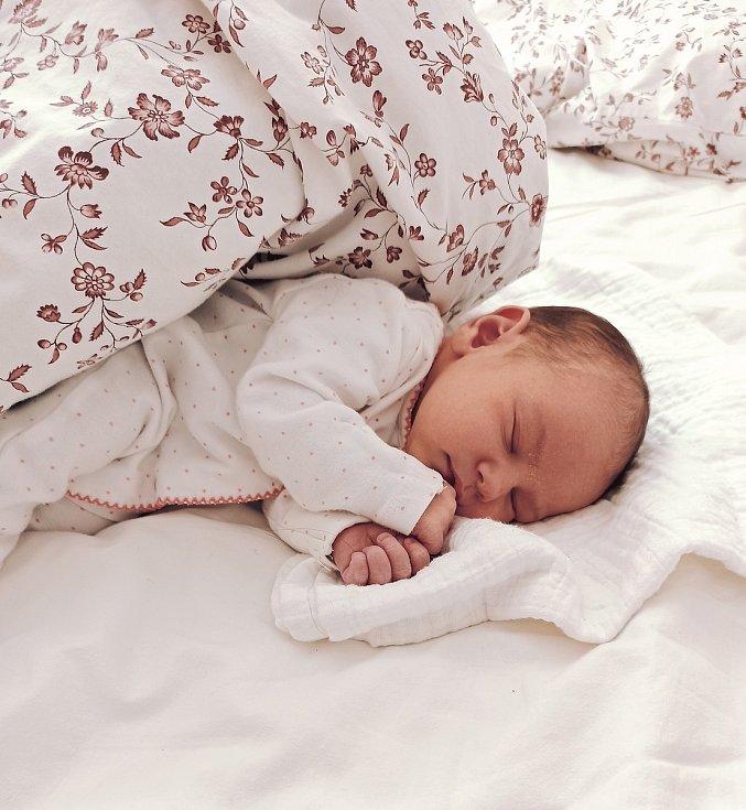 Kristýnka Komárková se narodila 25. března doma v Lysé nad Labem. Po porodu vážila 3380 g a měřila 49 cm. Šťastnými rodiči jsou Daniela a Josef Komárkovi a velkými brášky se stali Tomášek a Kubík.