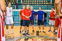 Česká basketbalová reprezentace se připravuje v Nymburce. Nechybí borci mistrovského Nymburka