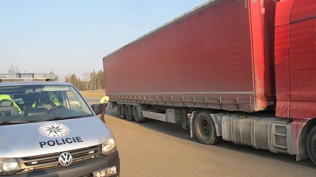 Dopravně bezpečnostní akce.
