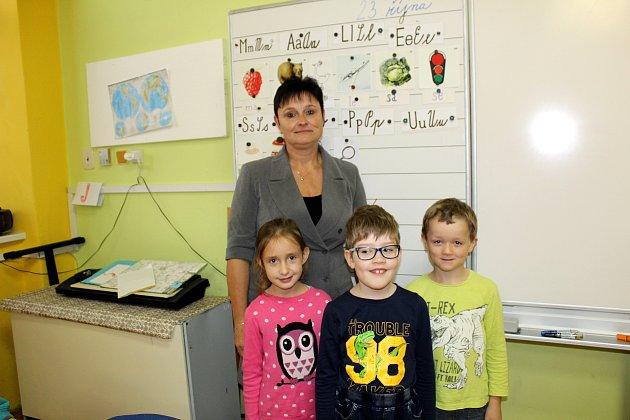Základní škola Křečkov, třídní učitelka Iva Šafránková