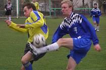 Ze zápasu I.A třídy Sokoleč - Chocerady (5:2)