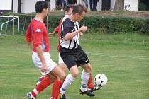 Z fotbalového utkání I.A třídy Poděbrady - Mnichovo Hradiště (4:1)