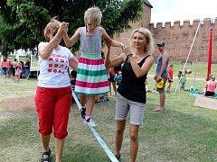 V rámci týdne akcí Radnice dětem se konal i Dětský den pod hradbami.