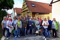 Hosté z Neuruppinu na návštěvě v Nymburce.