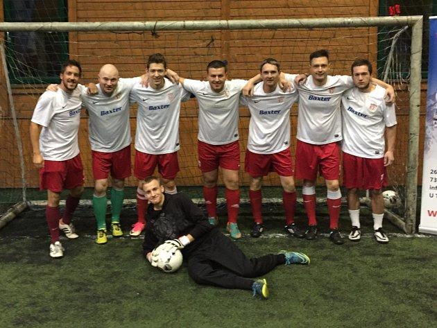 Tým Slavoje otevře svým zápasem páté kolo Milovické ligy malého fotbalu.