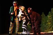 Z pohádky Kubula  Kuba Kubikula v Hálkově divadle
