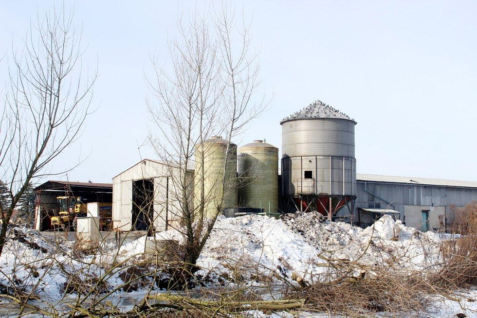 Zemědělský areál.