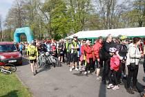 Postřižinského cyklootvíráku se zúčastnilo dvanáct set lidí.