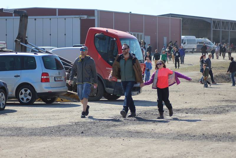 Ze závodů truck trialů v Milovicích 2018