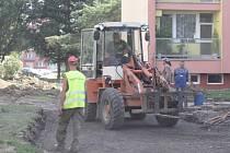 Práce na sídlišti skončí před termínem