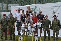 Třetí místo vybojovali na druhém ročníku soutěžního Buddy ARMY TESTu Olivie a Honza z Milovic